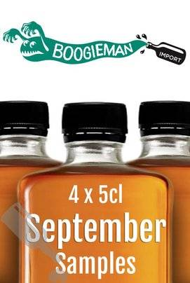Boogieman Sample Set 4x 5cl - September 2016