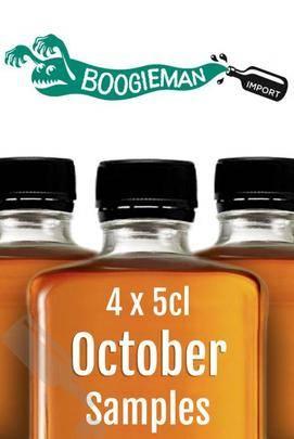 Boogieman Sample Set 4x 5cl - October 2016