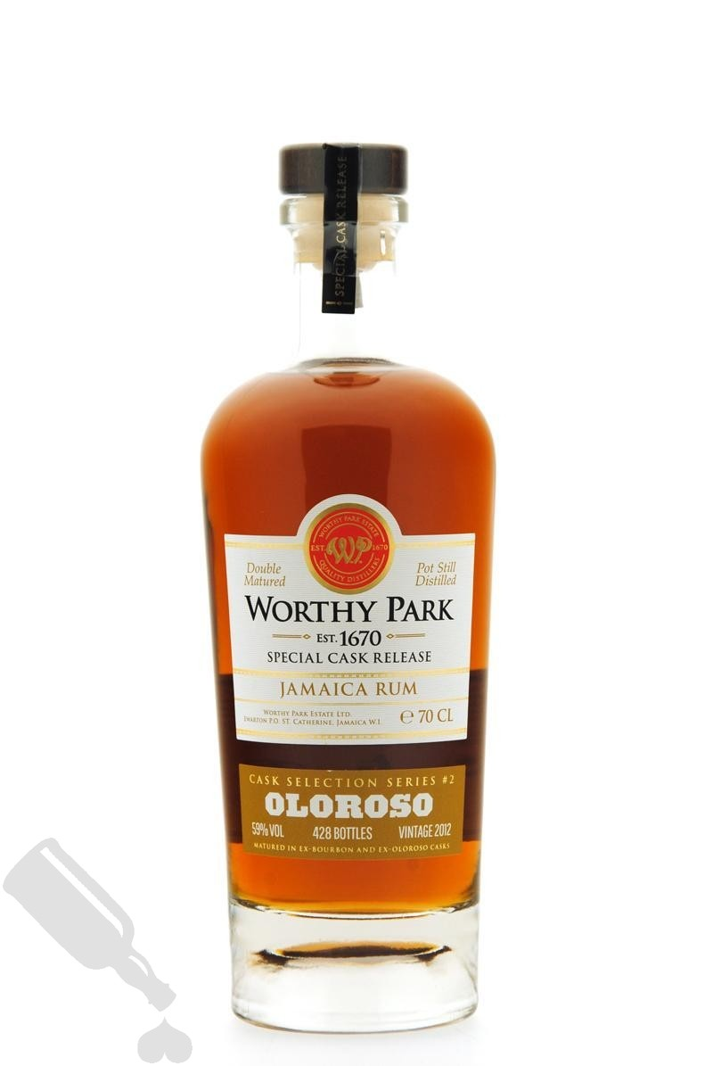 Worthy Park 2012 - 2017 Cask Selection Series #2 Oloroso