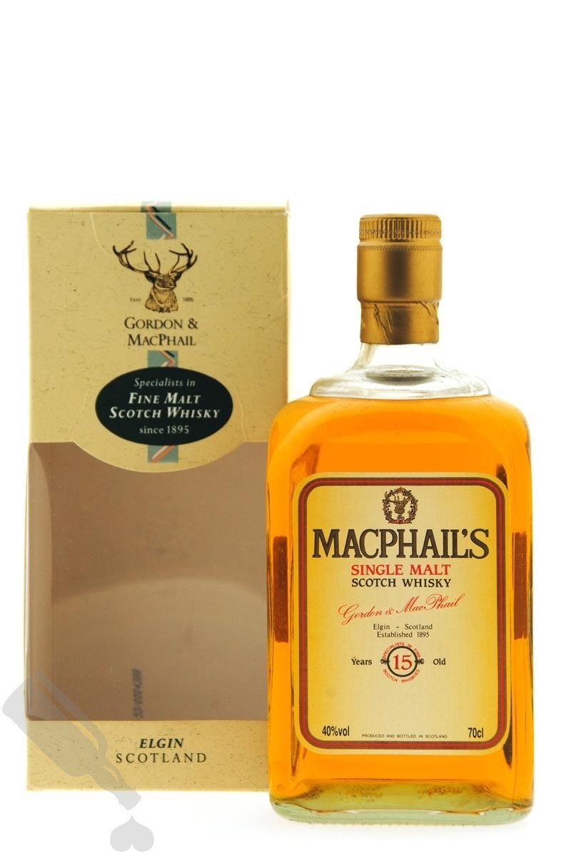 MacPhail's 15 years - Old Bottling