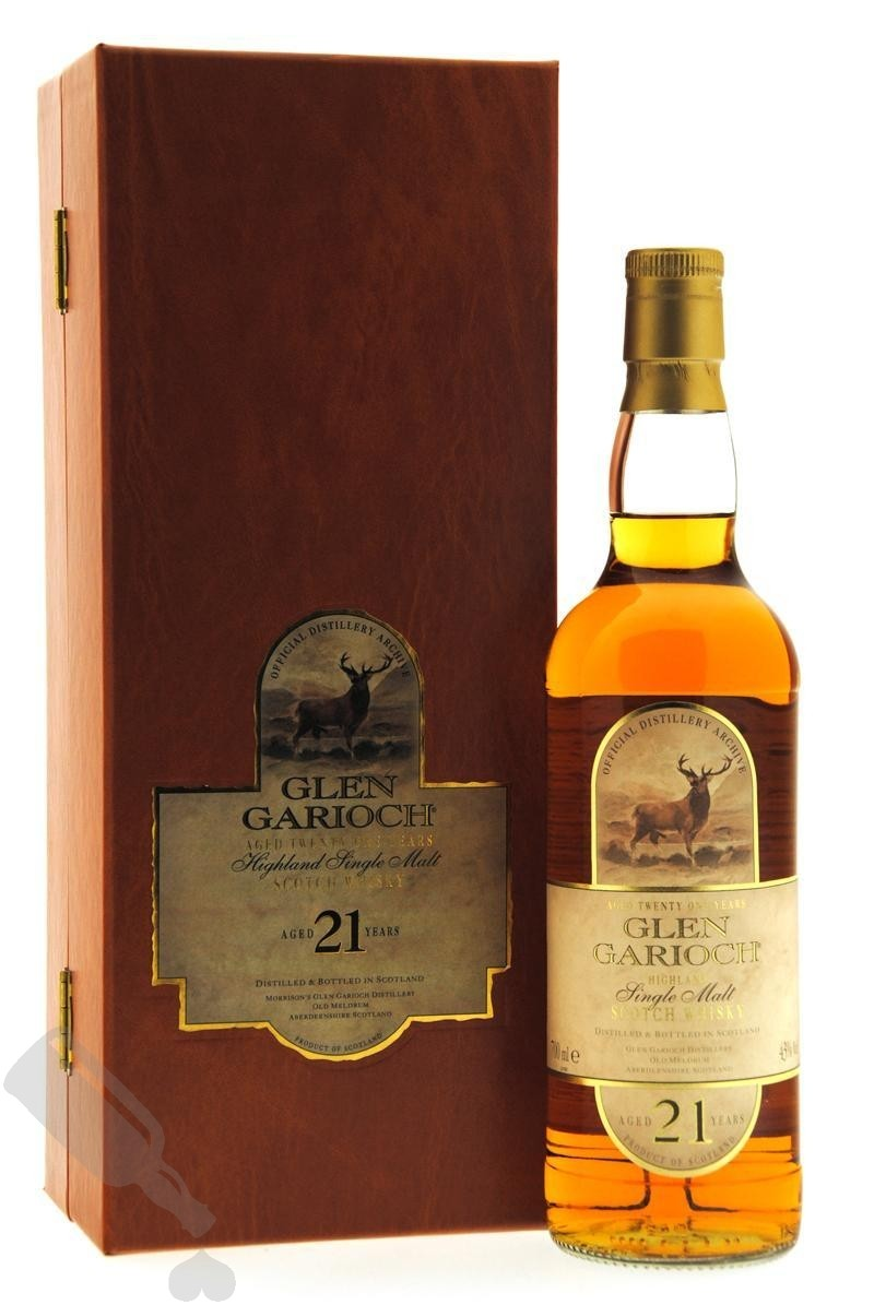 Glen Garioch 21 years - Old Bottling