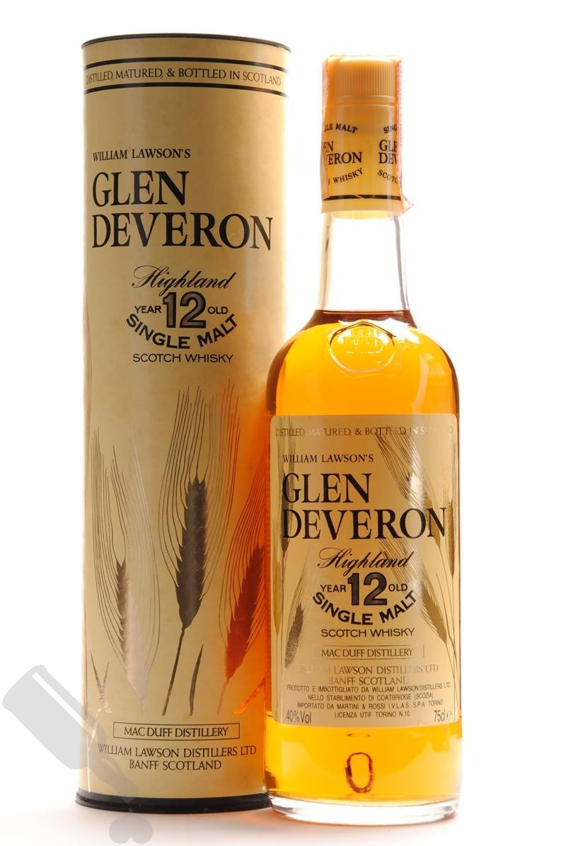 Glen Deveron 12 years 75cl - Old Bottling
