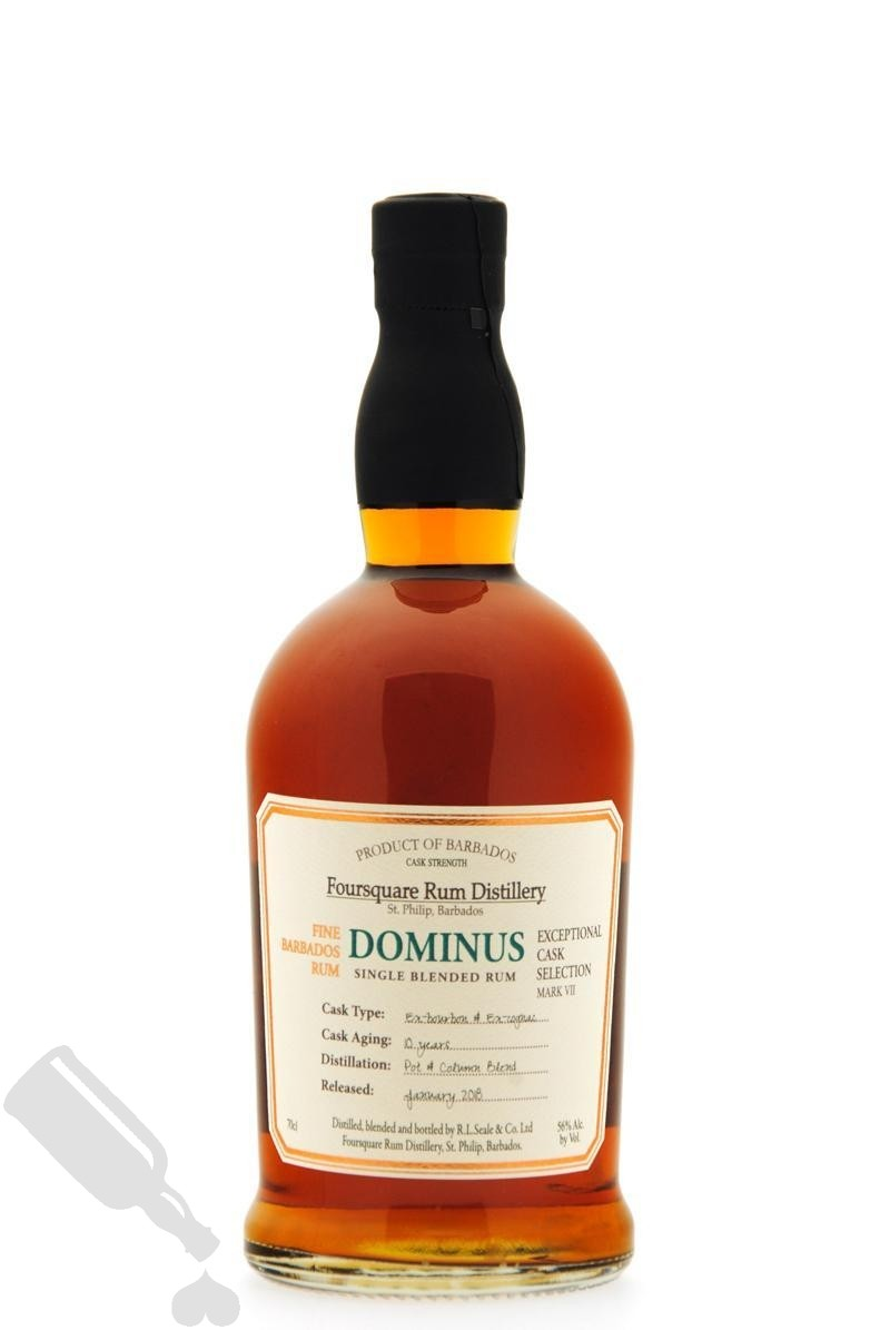 Foursquare 10 years 2018 Dominus Exceptional Cask Selection Mark VII