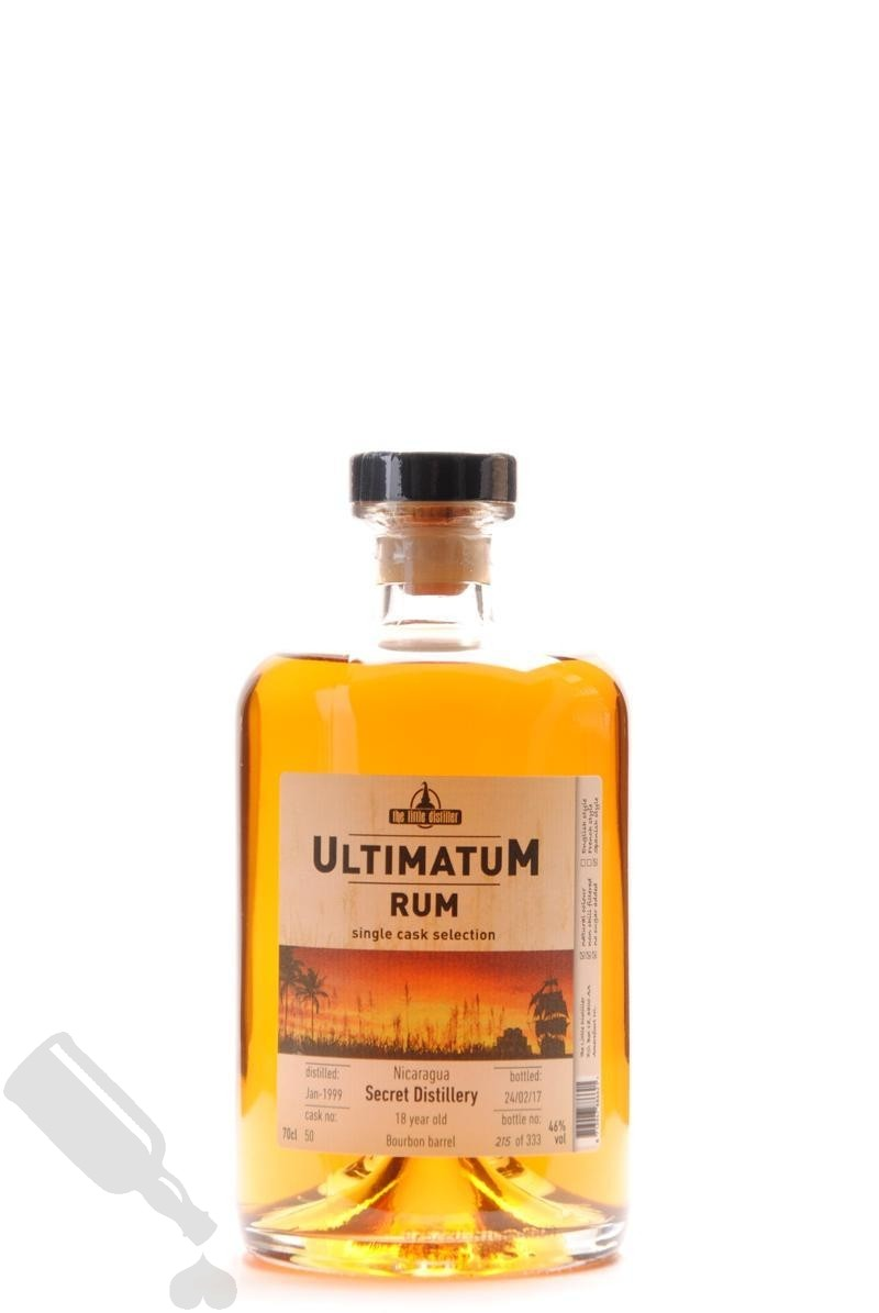 Secret Distillery 18 years 1999 - 2017 #50 Ultimatum