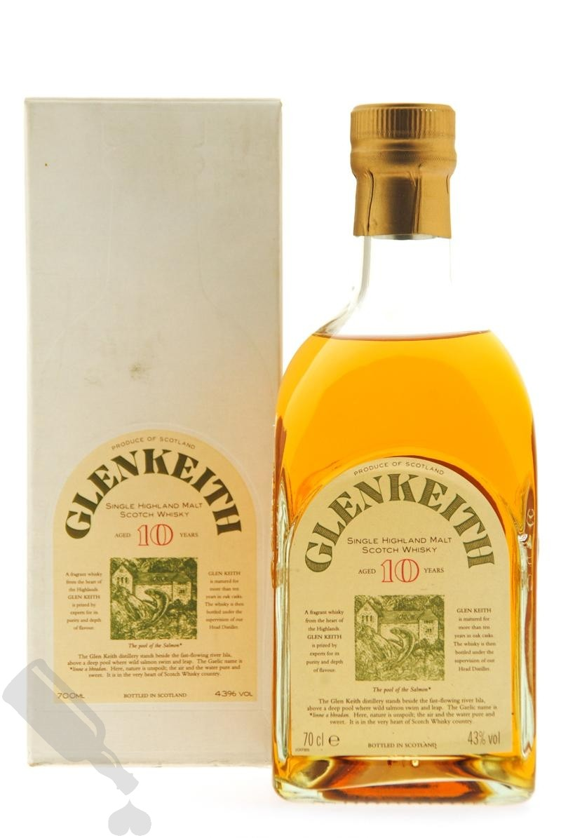 Glen Keith 10 years - Old Bottling