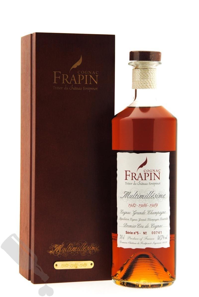 Frapin Château Fontpinot Multimillésime 1982-1986-1989