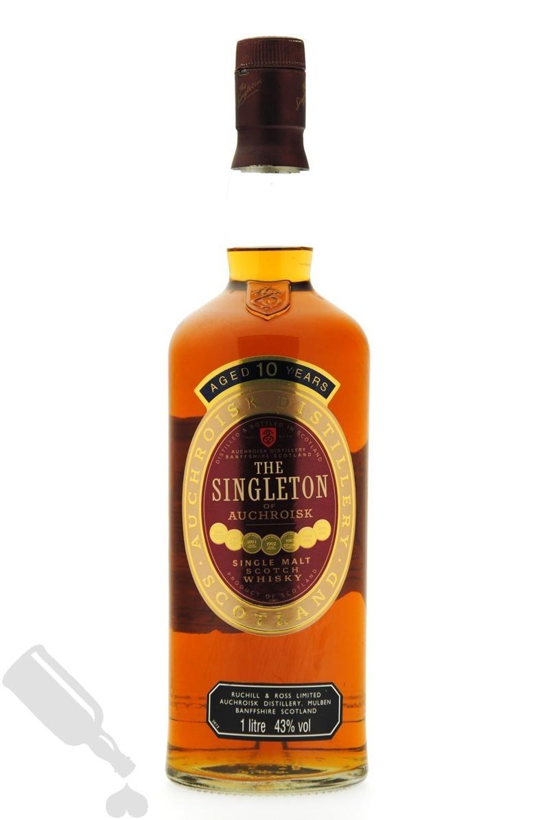 The Singleton Of Auchroisk 10 years 100cl - Old Bottling