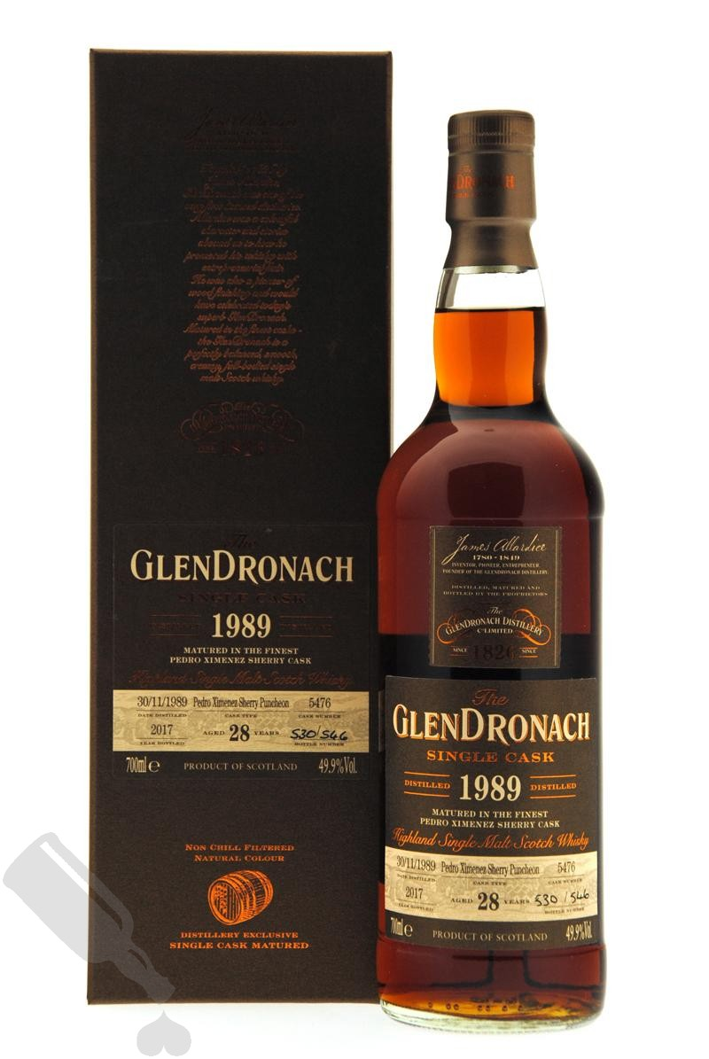 GlenDronach 28 years 1989 - 2017 #5476